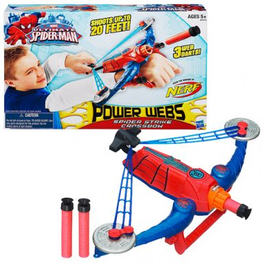 Spider-Man Power Webs Spider Strike Crossbow