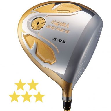 HONMA Beres S-05 Driver Right 10.5 ARMRQ Infinity 48 5-Star Graphite Strong Regular