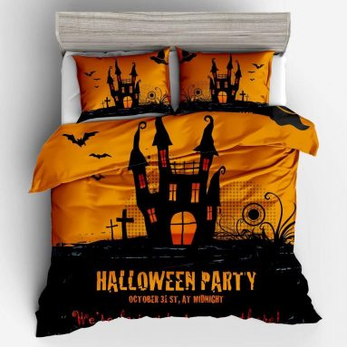 Halloween Cotton Bedding Quilt Duvet Cover Sets