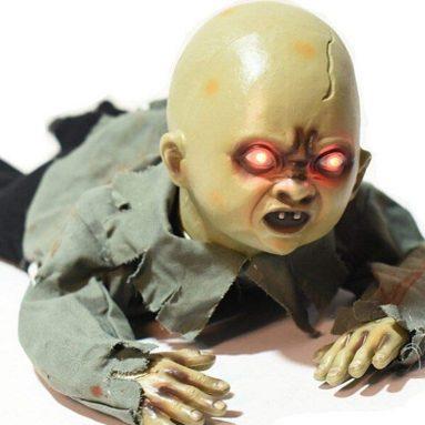 Halloween Crawling Baby Zombie