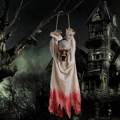 Halloween Decoration Hanging Corpse with Motion Sensor