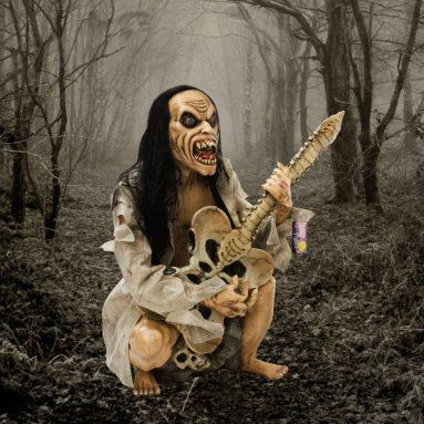 Halloween Haunters Life-Size Seated Zombie Man