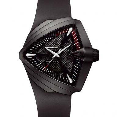 Hamilton Men's Ventura XXL Black Dial Watch