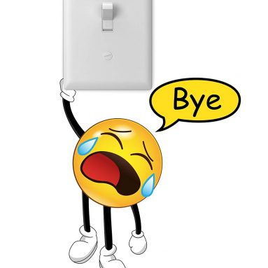 Hanging Emoji Door Wall Sticker Decal