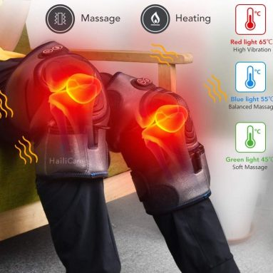 Heated Vibration Knee Massager