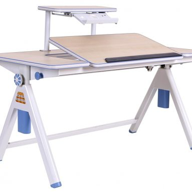 Height Adjustable Kids Study Table and Chair Set