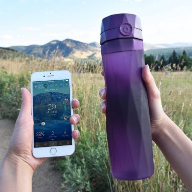 Hidrate Spark 2.0 Smart Water Bottle – Tracks Water Intake & Glows to Remind You to Stay Hydrated
