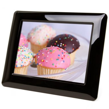 High Resolution Digital Photo Frame With Auto On/Off Timer