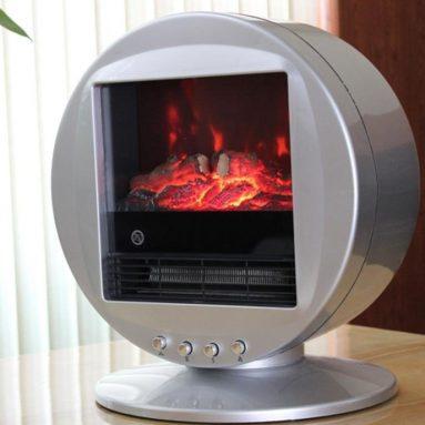 Himalayan Circular Heater Electric Fireplace