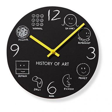 History of Art Wall Clock