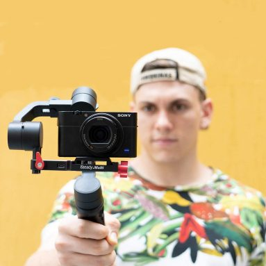 Hohem iSteady-Multi Gimbal for Compact Camera 3-Axis Handheld Gimble Stabilizer