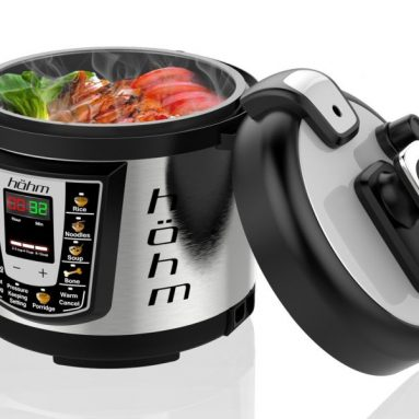Hohm Electric Multi-Functional Pressure Cooker