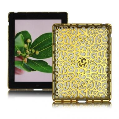 Hollow Pattern Hard Case for iPad 4 / iPad 3 / iPad 2