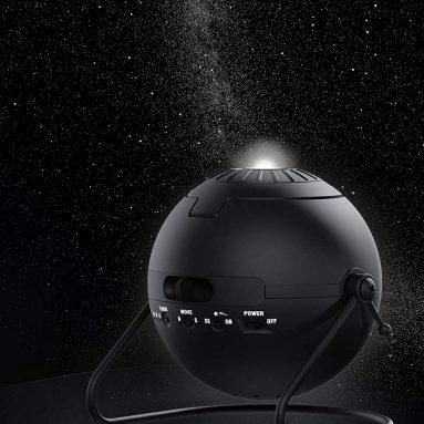 Homestar Flux (Satin Black) Home Planetarium Star Projector