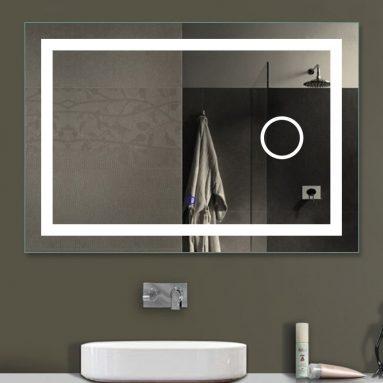 Horizontal LED Wall Mounted Lighted Vanity Bathroom