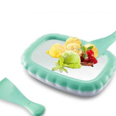 Household Non-electronic DIY Ice Cream Maker Smoothies Machine Mini Fried Yogurt Ice Cream Machine