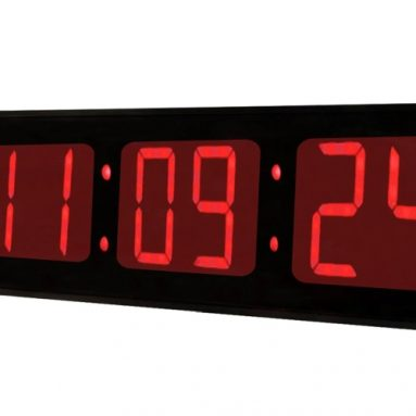 Huge Large Big 36 Inch Oversized Digital LED Clock