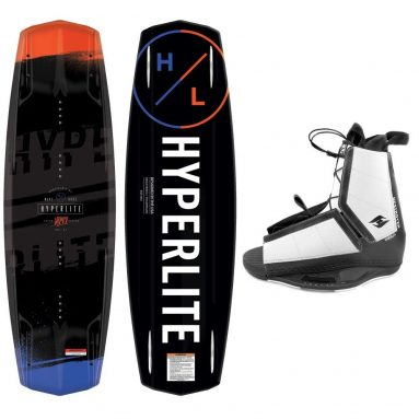 Hyperlite Wakeboard Package Vapor with Destroyer Wakeboard Bindings