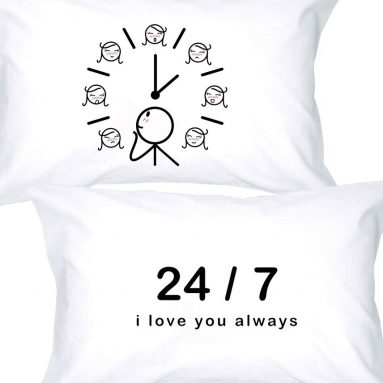 I Love You Always Couples Pillowcases