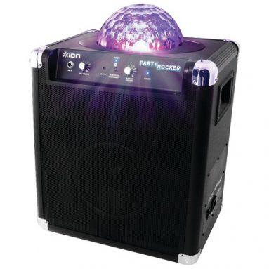 Ion Party Rocker Wireless Speaker System w/ Built-in Light Show