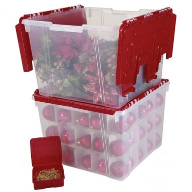 Lid Organizer Set with 75 Ornament Dividers