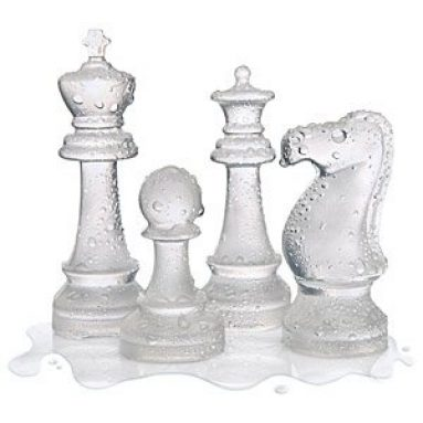 Ice Speed Chess Mold Tray