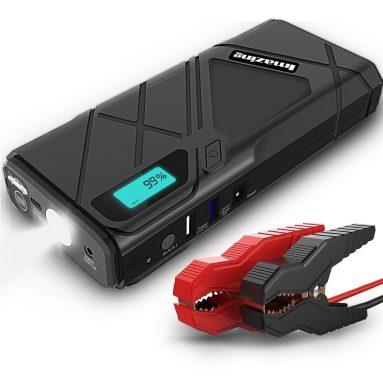 Imazing Portable Car Jump Starter 1200A Peak 12000mAH