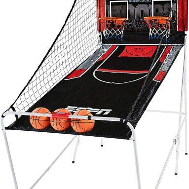 Indoor Home 2 Player Hoop Shooting Basketball