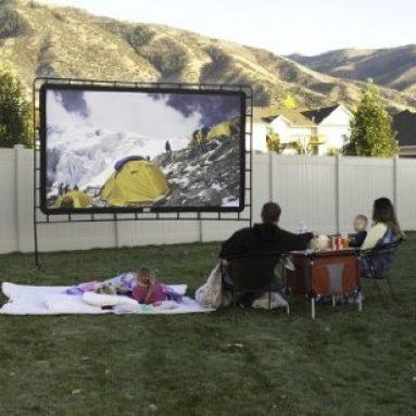 Indoor/Outdoor Movie Screen