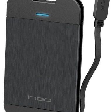 Ineo Technology 2.5-Inch SATA I/II External Hard Drive Enclosure