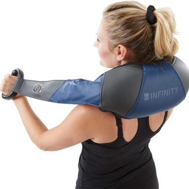 Infinity Cordless Shiatsu Neck Shoulders and Body Massager