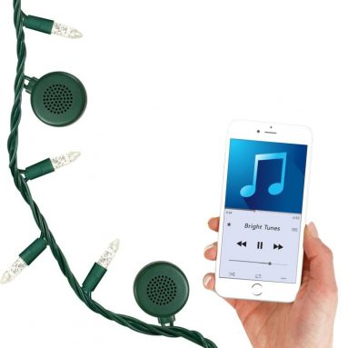 Bright Tunes Decorative String Light with Bluetooth Speakers