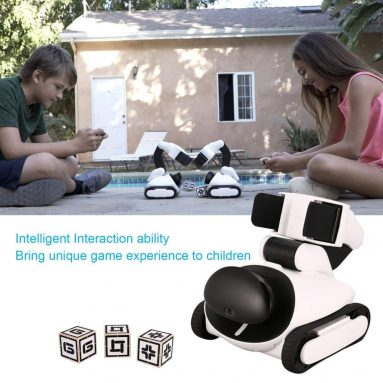 Intelligent Early Education Robot App Remote Control Programmable Visual Identify RC Robot Toy