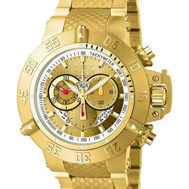 Invicta Men's 'Subaqua' Swiss Quartz Stainless Steel Sport Watch