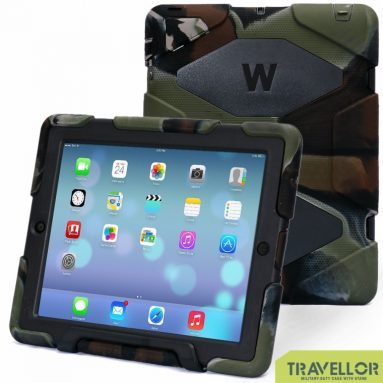 Ipad 2 3 4 Case 3d Protect Military-duty Case