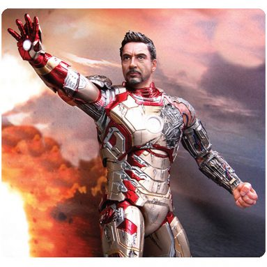 Iron Man 3 Pre-Assembled Model Kit