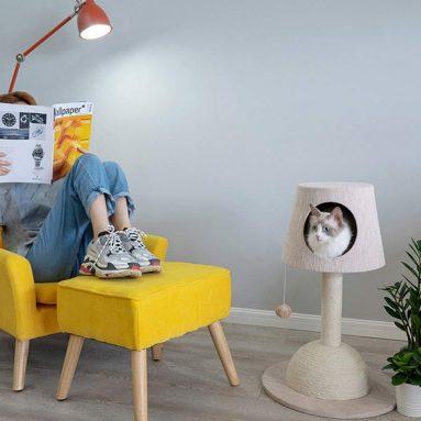 JYKOO Pet Toys, Table Lamps, Cat Racks, Medium Cat Scratch Board