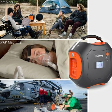 Jackery PowerPro 500Wh Portable Rechargeable Lithium-ion Battery Quiet Generator