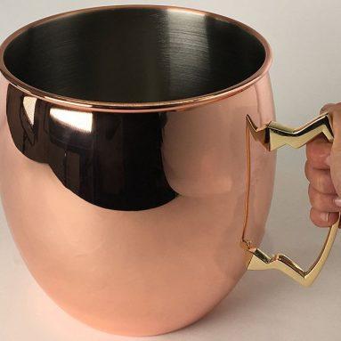 Jumbo Moscow Mule Copper Drinking Mug