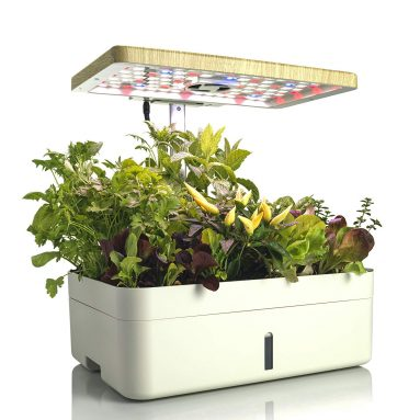 KL&S Intelligent Planter with Grow Lamp