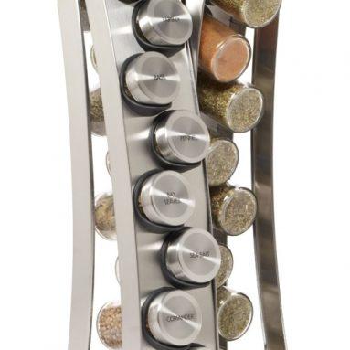 Stainless Steel Revolving Spice Rack