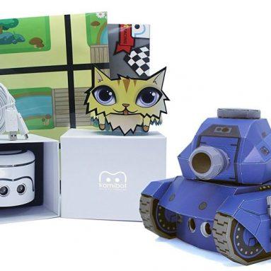 Kamibot Interactive Papercraft Basic STEAM Kit smart robot toy that teaches coding