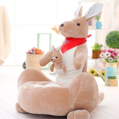 Kangaroo Washable Kid Bean Bag Sofa Chair Plush