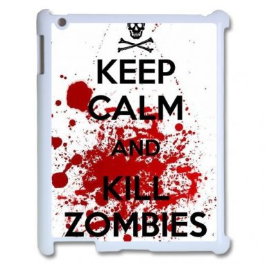 Keep Calm and Kill Zombies Case For Ipad 1/2/3/4
