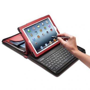Key Folio with Bluetooth Keyboard for iPad 2/new iPad/iPad 4 with Retina Display