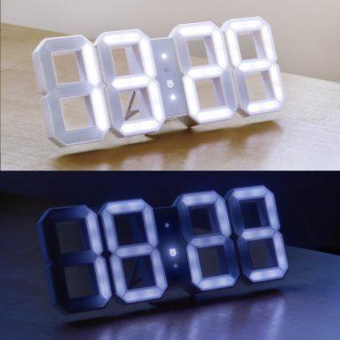 Kibardin White White Clock