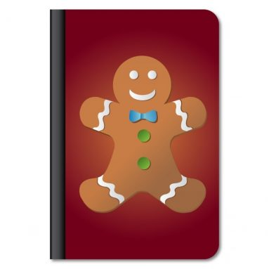 Kindle Fire HD 8.9″ Protective Case – Gingerbread Man