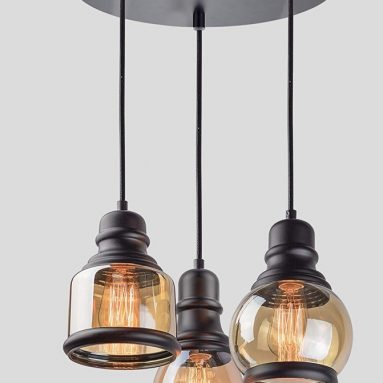 Kira Home Hudson 11.5 3-Light Multi-Pendant Chandelier