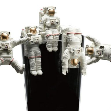 Kitan Club Putitto Astronaut Cup Toy