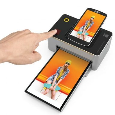 "Kodak Dock & Wi-Fi 4×6"" Photo Printer with Advanced Patent Dye Sublimation Printing Technology"